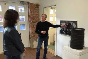 bo arnros konstutställning på Konstnärshuset Svavel