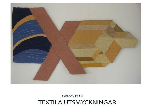 Textil av Jill Englund - Medlem i Föreningen Konstgrafiker i Jönköping