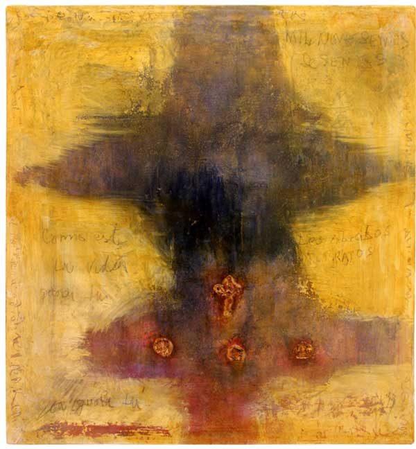 Målning vid namn Goyas skugga av JC Larsson - Medlem i Dymlingen