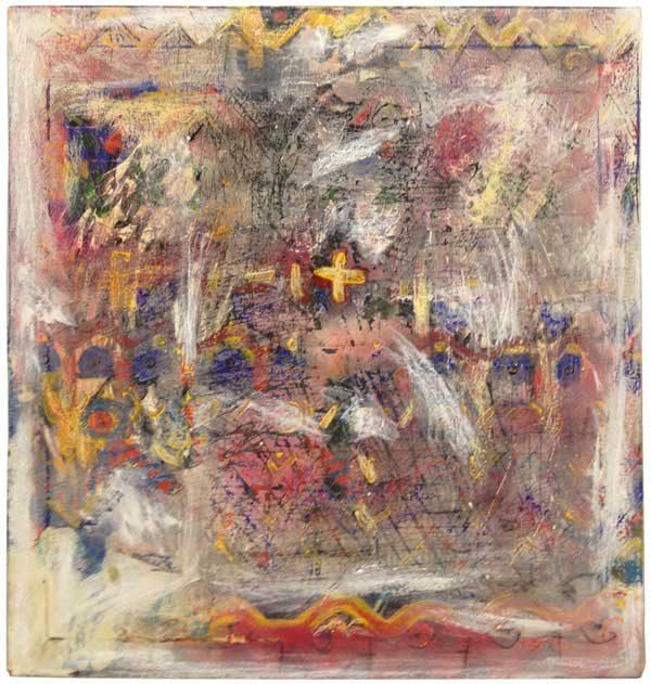 Målning vid namn Jackson Pollock av JC Larsson - Medlem i Dymlingen