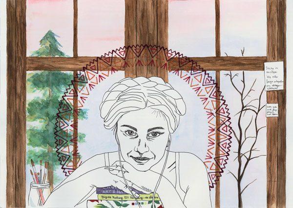 Victoria Wärn - Medlem i Unga grafiker
