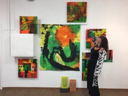 Utställning med Marie Nir och Ingegerd Schönborg på Konstnärshuset Svavel