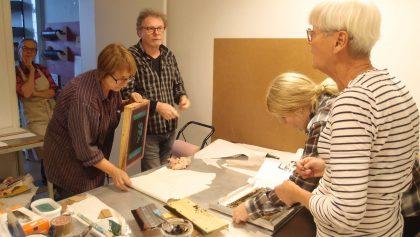 Kurs i screentryck på Konstnäsrhuset Svavel